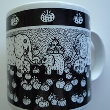Primitives 11 oz. Elephant Mug