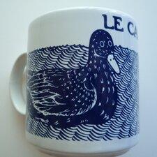 Vintage French 11 oz. Le Canard (Duck) Mug