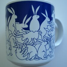 Animates 11 oz. Nitetime Rabbits Mug