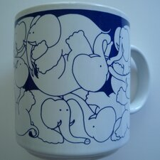 Animates 11 oz. Nitetime Elephants Mug