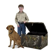 <strong>Kidz World</strong> John Deere Boy's Upholstered Storage Box