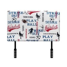 Sports Twin Upholstered Headboard