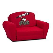 "Case Int'l Harvester Kids ""Big Red"" Tractor Sleepover Sofa"