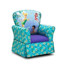 <strong>Kidz World</strong> Disney Kids Fairies Skirted Rocking Chair