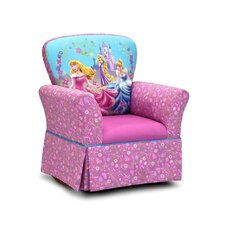 "Disney Kids Princess ""Glow Within"" Skirted Rocking Chair"