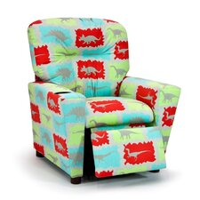 Assorted Juvenile Prints Kids Rex Dinosaur Recliner