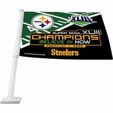 Super Bowl XLV Car Flag