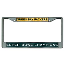Green Bay Packers Super Bowl XLV Laser Chrome Frame