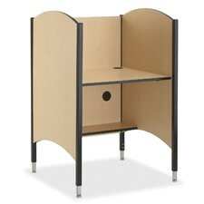 Hi-Lo Carrel Desk
