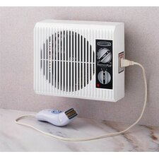 """Off the Wall"" Bed/Bathroom Heater"