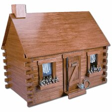 <strong>Greenleaf Dollhouses</strong> Shadybrook Cabin Dollhouse