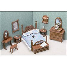 <strong>Greenleaf Dollhouses</strong> Bedroom Furniture Kit