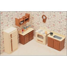<strong>Greenleaf Dollhouses</strong> Kitchen Furniture Kit