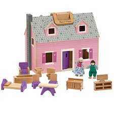 <strong>Melissa and Doug</strong> Fold and Go Mini Dollhouse