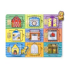 <strong>Melissa and Doug</strong> Magnetic Hide & Seek Board