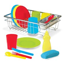 Let's Play House! Wash and Dry Dish Set