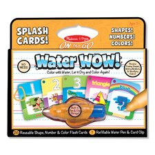 Water Wow! Shapes, Numbers and Colors Splash Card