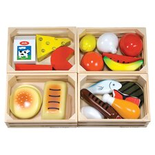 21 Piece Food Groups Play Set