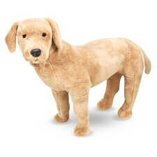 Large Yellow Lab Plush Stuffed Animal