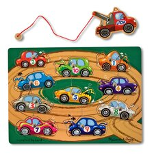 Towing Game Magnetic Puzzle