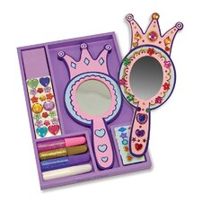 <strong>Melissa and Doug</strong> DYO Princess Mirror Arts & Crafts Kit