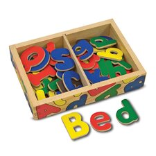 <strong>Melissa and Doug</strong> Magnetic Wooden Alphabet in a Box