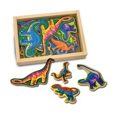 20-Piece Magnetic Dinosaurs Set