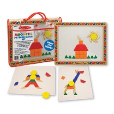 <strong>Melissa and Doug</strong> Magnetic Pattern Block Set