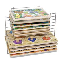 <strong>Melissa and Doug</strong> Deluxe Wire Puzzle Rack