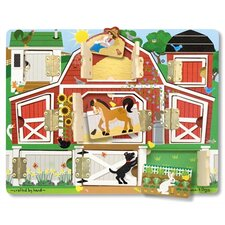 <strong>Melissa and Doug</strong> Magnetic Farm Hide and Seek