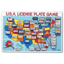<strong>Melissa and Doug</strong> License Plate Game