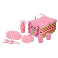 <strong>Melissa and Doug</strong> 5 Piece Bella Butterfly Picnic Set