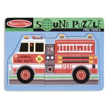 <strong>Melissa and Doug</strong> Fire Truck Sound Puzzle