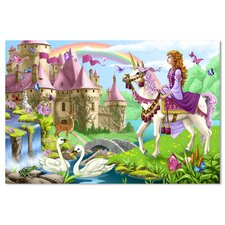 <strong>Melissa and Doug</strong> Fairy Tale Castle Floor Puzzle