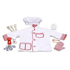 <strong>Melissa and Doug</strong> Chef Role Play Costume Set