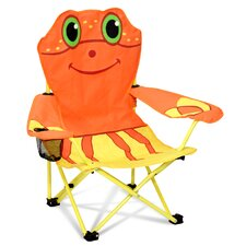 Clicker Crab Kid's Directors Chair