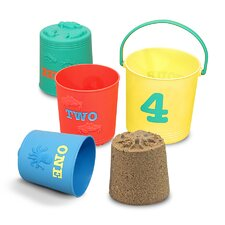 <strong>Melissa and Doug</strong> Seaside Sidekicks Nesting Pails