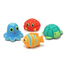 <strong>Melissa and Doug</strong> Seaside Sidekicks Squirters