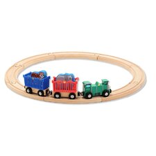 <strong>Melissa and Doug</strong> Zoo Animal Train Set