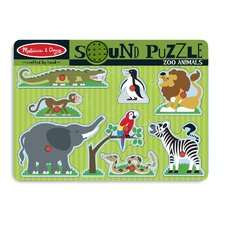 <strong>Melissa and Doug</strong> Zoo Animals Sound Puzzle