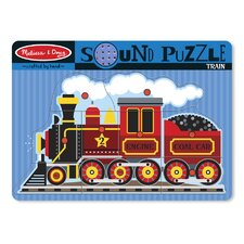 <strong>Melissa and Doug</strong> Train Sound Puzzle