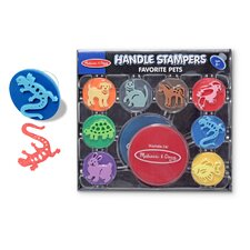 <strong>Melissa and Doug</strong> Favorite Pets Stampers