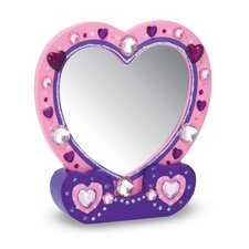 <strong>Melissa and Doug</strong> Heart Mirror DYO