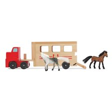 Horse Carrier Truck Vehicle Set