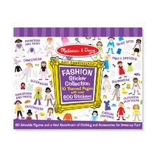 <strong>Melissa and Doug</strong> Sticker Collection Fashion