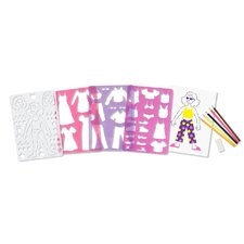 <strong>Melissa and Doug</strong> Fashion Fun Stencil Set