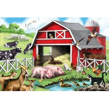 24-pieces Farm Friends Floor Set