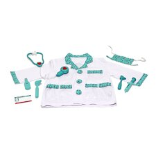 <strong>Melissa and Doug</strong> Doctor Role Play Costume Set