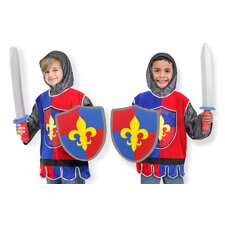 <strong>Melissa and Doug</strong> Knight Role Play Costume Set