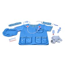 <strong>Melissa and Doug</strong> Veterinarian Role Play Costume Set